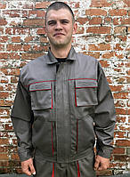 "Куртка рабочая ""Атлант"" серая, мужская рабочая одежда"
