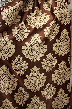 Двостороння шторна тканина Корона, фото 2