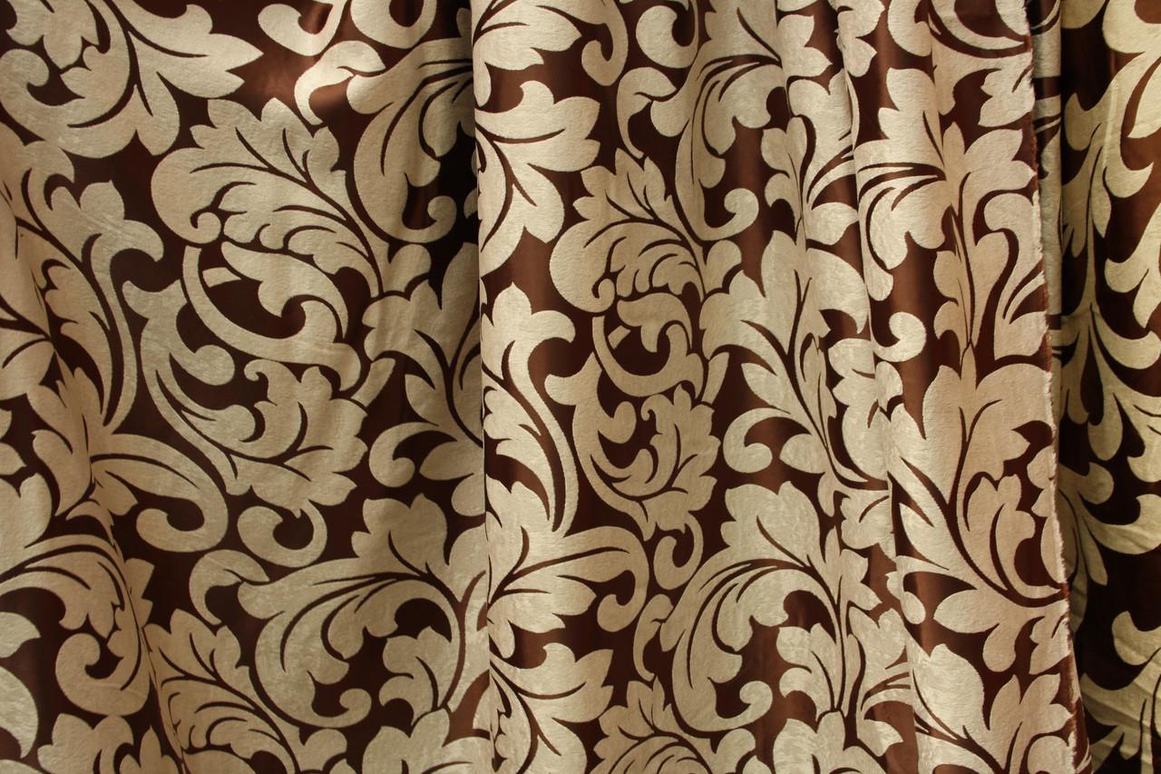 Двухсторонняя шторная ткань Завиток