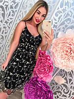 Платье женское летнее с вышивкой