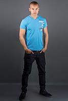 Мужская футболка Грэт (морская волна)