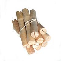 Бигуди-коклюшки деревянные для химической завивки (набор 10 штук, диаметр 11 мм))