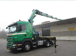 Тягач с краном Scania 380 A 6X2*4 RETARDER