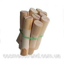 Бігуді-дерев'яні коклюшки для хімічної завивки (набір 8 штук, діаметр 14 мм))