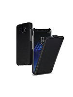 Кожаный чехол (флип) TETDED для Samsung G950 Galaxy S8 Черный / Black