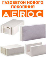 Газобетонные блоки Aeroc, фото 1