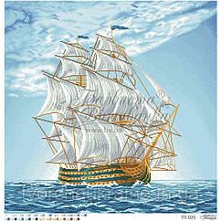 Бисерная заготовка для вышивки схемы-картины Морское приключение