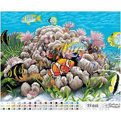 Бисерная заготовка для вышивки схемы-картины Подводный мир (1)