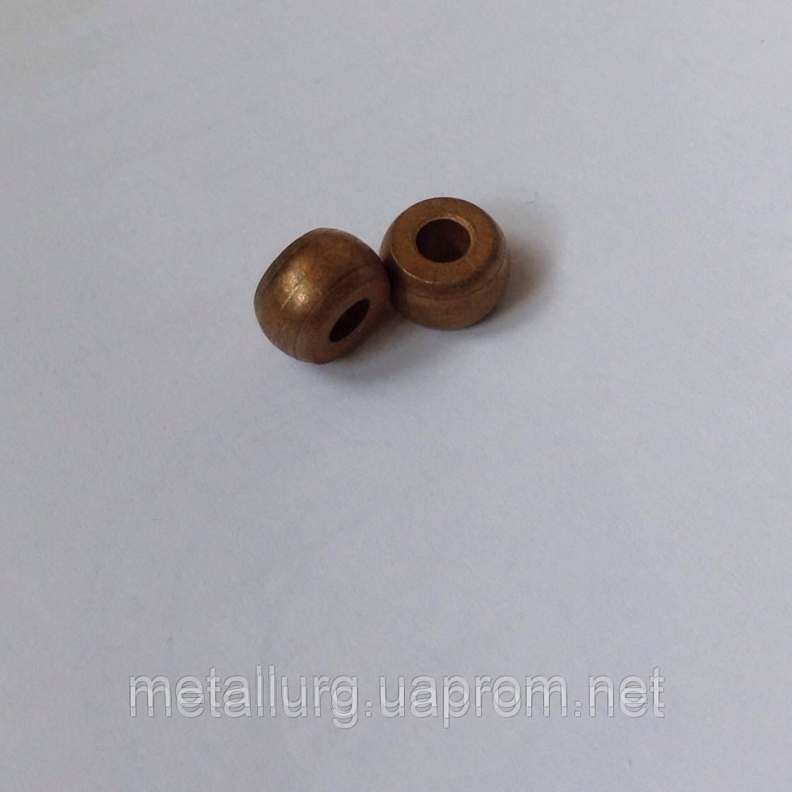 Втулка сферическая бронзографитовая 2,5х6х4