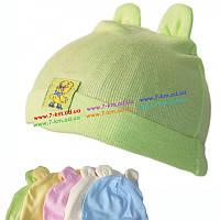 Шапка для младенцев Vit06023 коттон 10 шт (0-6 мес)