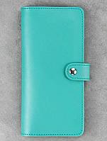 Кошелёк BlankNote BN-PM-7-tiffany кожаный Голубой
