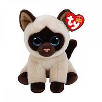 """TY Beanie Babies Сиамская кошка """"Jaden"""", 15 см"""