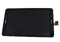 Оригинальный дисплей (модуль) + тачскрин (сенсор) для Huawei MediaPad T1 8.0 3G S8-701 | S8-701u (черный цвет)