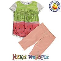 Костюмы с Шифоновой кофтой и бриджами для девочек Размер: 98-104-110-116 см (4159-4)