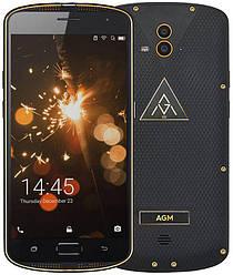 Защищенный смартфон AGM X1 IP68 gold Super AMOLED 4/64 Gb Octa-Core