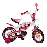 Детский 2-х колесный велосипед Profi Vip 12 Pink