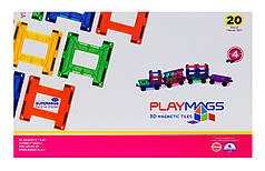 Конструктор Playmags магнитный набор 20 эл. PM155, фото 3