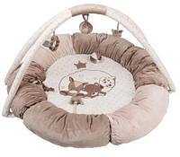 Nattou Развивающий коврик с дугами и подушками Макс, Ноа и Том 777322