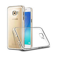 TPU чехол Ultrathin Series 0,33mm для Samsung Galaxy C7 Pro Бесцветный (прозрачный)