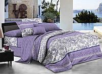 Двуспальный набор постельного белья 180*220 из Ранфорса №283 Черешенка™
