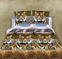 Двуспальный набор постельного белья 180*220 из Ранфорса №285 Черешенка™