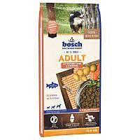 Корм BOSCH ADULT Лосось и картофель для взрослых собак, 15 кг