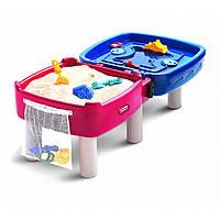 Песочница-стол 2 в 1 Играем и рисуем (для песка и воды) Little Tikes (Литтл Тайкс) 451T