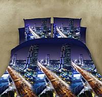 Двуспальный набор постельного белья 180*220 из Ранфорса №288 Черешенка™