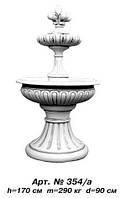 Фонтан арт.354а «Леокадия» (двухъярусный, малый) 82х82 см, D=95 см