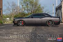 Dodge Challenger на дисках Vossen VWS-3