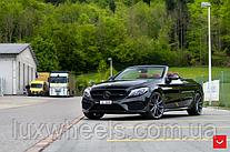 Mercedes C-Class на дисках Vossen VFS-10