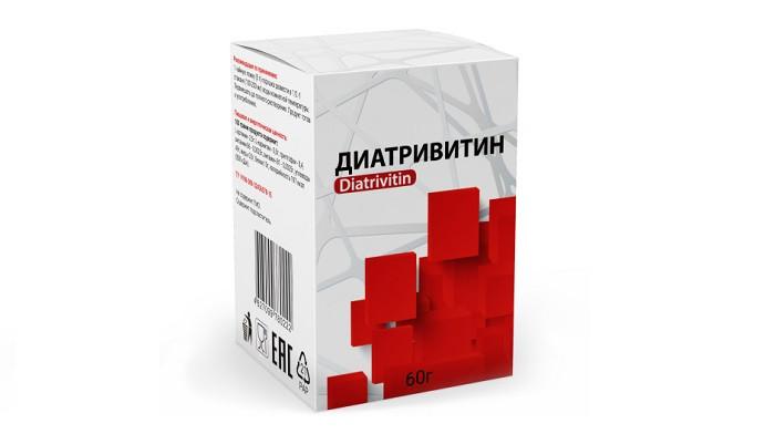 Диатривитин (Diatrivitin) - засіб від діабету. Ціна виробника. Фірмовий магазин.