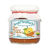 Пюре Marmaluzi Яблоко и морковь, с 5 месяцев , 125 г 1283063 ТМ: Marmaluzi