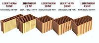 Керамические блоки LEIER