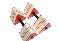 Гантели для аквааэробики треугольные 2 шт.