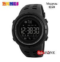 Гарантия! Подарок! Часы skmei 1250 черные
