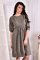 Летнее платье больших размеров 0549 меланж