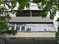 Балкон разварка и обшивка сайдингом шесть метров шевченковский