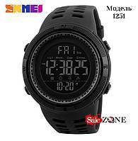 Гарантия! Подарок! Часы skmei 1251 черные