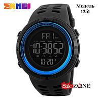 Гарантия! Подарок! Часы skmei 1251 синие