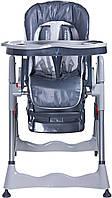 Стул для кормления детский  Magnus Classic - Caretero - Польша - оснащен поворотными колесами