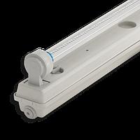 Корпус светильника Atom 760 118 1х600мм для светодиодных LED ламп T8 IP65 (Германия) герметичный промышленный , фото 1