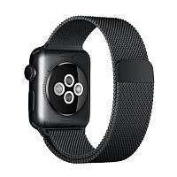 Ремешок для Apple Watch Milanese Loop черный 42mm