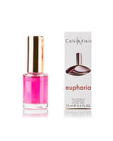 Мини-парфюм женский 15 мл Calvin Klein Euphoria