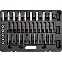 Набор ключей D5-T60 для крепления амортизаторов YATO, 39 шт.