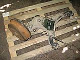 Задній правий важіль + барабан + гальмівний механізм б/у на VW T4 рік 1990-2003, фото 4