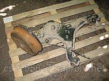 Задний правый рычаг + барабан + тормозной механизм б/у на VW T4 год 1990-2003