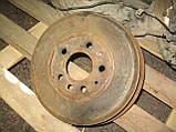 Задній правий важіль + барабан + гальмівний механізм б/у на VW T4 рік 1990-2003, фото 8