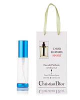 Парфюм-спрей в подарочной упаковке  Dior Homme Sport Christian Dior для мужчин,35 мл