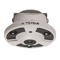 Видеокамера AHD купольная Tecsar AHDD-2Mp-10Fl-FE (fisheye)